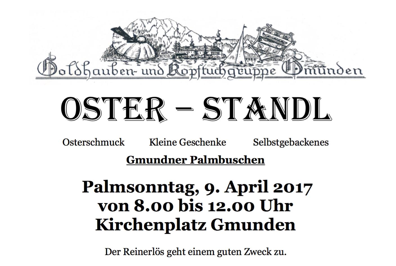 Oster Standl Gmunden 9.April 2017